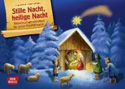 Cover-Bild zu Stille Nacht, heilige Nacht. Kamishibai Bildkartenset von Brandt, Susanne