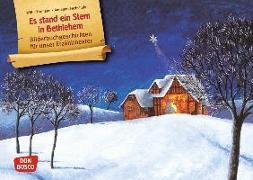 Cover-Bild zu Es stand ein Stern in Bethlehem. Kamishibai Bildkartenset von Fährmann, Willi