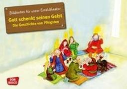 Cover-Bild zu Bildkarten für unser Erzähltheater. Gott schenkt seinen Geist - Die Geschichte von Pfingsten von Lefin, Petra (Illustr.)