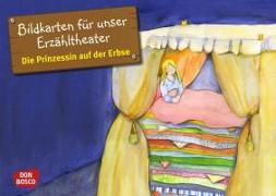 Cover-Bild zu Bildkarten für unser Erzähltheater: Die Prinzessin auf der Erbse von Andersen, Hans Christian