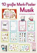 Cover-Bild zu 10 große Merk-Poster Musik von Redaktionsteam Verlag an der Ruhr