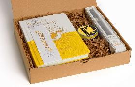 Cover-Bild zu Harry Potter: Hufflepuff Boxed Gift Set von Insight Editions