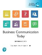 Cover-Bild zu Business Communication Today, Global Edition von Bovee, Courtland L.
