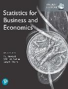 Cover-Bild zu Statistics for Business and Economics, Global Edition von Newbold, Paul