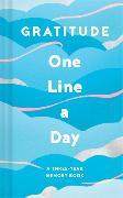 Cover-Bild zu Chronicle Books: Gratitude One Line a Day