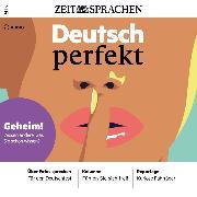 Cover-Bild zu Deutsch lernen Audio - Geheim! (Audio Download) von Begisheva, Alia