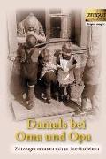 Cover-Bild zu Damals bei Oma und Opa. Band 1 (eBook) von Kleindienst, Jürgen (Hrsg.)
