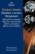 Cover-Bild zu Denken, Lernen, Vergessen von Vester, Frederic