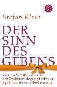 Cover-Bild zu Der Sinn des Gebens von Klein, Stefan