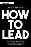 Cover-Bild zu How to lead von Rubenstein, David