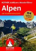 Cover-Bild zu ROTHER Jubiläums-Wanderführer Alpen von Rother Bergverlag (Hrsg.)
