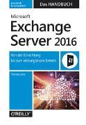 Cover-Bild zu Microsoft Exchange Server 2016 - Das Handbuch von Joos, Thomas