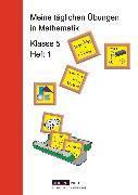 Cover-Bild zu Meine täglichen Übungen in Mathematik, 5. Schuljahr, Arbeitsheft 1 von Kreusch, Jochen