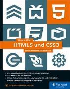 Cover-Bild zu HTML5 und CSS3 (eBook) von Wolf, Jürgen