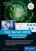 Cover-Bild zu SQL Server 2019 für Administratoren (eBook) von Caesar, Daniel