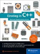 Cover-Bild zu Einstieg in C++ (eBook) von Theis, Thomas
