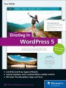 Cover-Bild zu Einstieg in WordPress 5 (eBook) von Müller, Peter