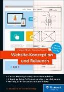 Cover-Bild zu Website-Konzeption und Relaunch (eBook) von Erlhofer, Sebastian