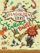 Cover-Bild zu Die Schule der magischen Tiere: Endlich Pause! Das große Rätselbuch (eBook) von Auer, Margit