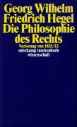 Cover-Bild zu Die Philosophie des Rechts von Hegel, Georg Wilhelm Friedrich