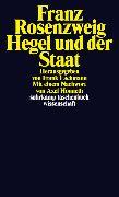 Cover-Bild zu Hegel und der Staat von Rosenzweig, Franz