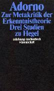 Cover-Bild zu Gesammelte Schriften in 20 Bänden von Adorno, Theodor W.