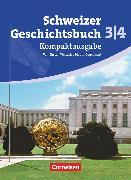 Cover-Bild zu Schweizer Geschichtsbuch, Aktuelle Ausgabe, Band 3/4: Kompaktausgabe, Vom Ersten Weltkrieg bis zur Gegenwart, Schülerbuch