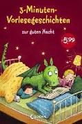 Cover-Bild zu 3-Minuten-Vorlesegeschichten zur guten Nacht von Loewe Vorlesebücher (Hrsg.)