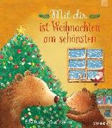 Cover-Bild zu Mit dir ist Weihnachten am schönsten von Hattie, Ellie