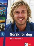 Cover-Bild zu Norsk for deg (A1-A2). Lehrbuch mit 2 Audio-CDs
