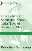 Cover-Bild zu Joyce, James: Geschichten von Shem und Shaun Tales Told of Shem and Shaun