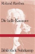Cover-Bild zu Barthes, Roland: Die helle Kammer