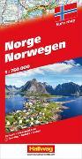 Cover-Bild zu Norwegen Strassenkarte. 1:750'000