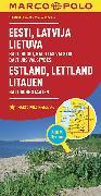 Cover-Bild zu Estland, Lettland, Litauen, Baltische Staaten. 1:800'000