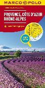 Cover-Bild zu Frankreich Blatt 8 Provence, Côte d'Azur, Rhône-Alpes. 1:300'000