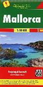 Cover-Bild zu Mallorca, Autokarte 1:50.000. 1:50'000