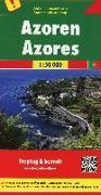 Cover-Bild zu Azoren, Autokarte 1:50.000. 1:50'000