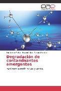 Cover-Bild zu Degradación de contaminantes emergentes