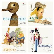 Cover-Bild zu eBook Pillole da Pinocchio, Alice nel paese delle meraviglie, La conferenza degli animali e Andersen fiabe