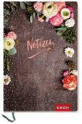 Cover-Bild zu Premium Notizbuch mit Blumen