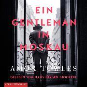 Cover-Bild zu Ein Gentleman in Moskau (Audio Download) von Towles, Amor