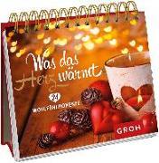 Cover-Bild zu Was das Herz wärmt. 24 Wohlfühlmomente
