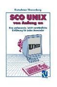 Cover-Bild zu SCO UNIX von Anfang an (eBook) von Kronenberg, Friedrich
