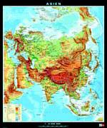 Cover-Bild zu Asien. physisch/politisch. 1:8'000'000