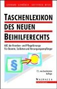 Cover-Bild zu Taschenlexikon des neuen Beihilferechts