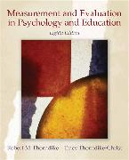 Cover-Bild zu Measurement and Evaluation in Psychology and Education