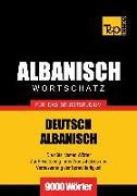 Cover-Bild zu Wortschatz Deutsch-Albanisch für das Selbststudium - 9000 Wörter (eBook) von Taranov, Andrey