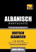 Cover-Bild zu Wortschatz Deutsch-Albanisch für das Selbststudium - 5000 Wörter (eBook) von Taranov, Andrey