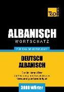 Cover-Bild zu Wortschatz Deutsch-Albanisch für das Selbststudium - 3000 Wörter (eBook) von Taranov, Andrey