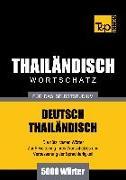 Cover-Bild zu Wortschatz Deutsch-Thailändisch für das Selbststudium - 5000 Wörter (eBook) von Taranov, Andrey